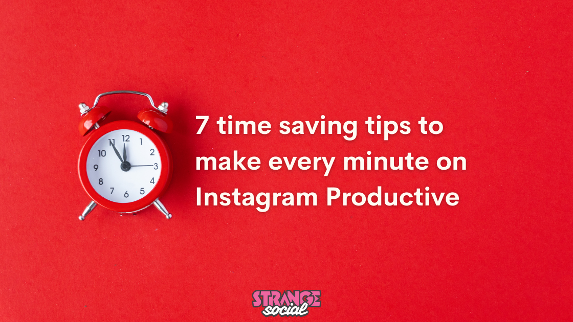 Title image: How to be more productive on instagram